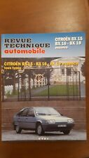 Revue Technique Automobile Citroën BX
