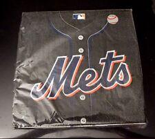 """Pkg. of 36 New York METS  Baseball Lunch NAPKINS--2 Ply--12 7/8"""" x 12 7/8"""""""