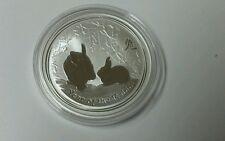 2011 Australia Lunar Silver Rabbit 1 oz