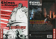 Chimes at Midnight (1965) DVD, NEW!! Orson Welles