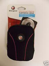Targus TGC-NP520 Neoprene Pocket Universal Camera Case Black and Pink New (W.R.)