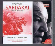 ERNST KRENEK 2 CDs SET NEW SARDAKAI REINHARD SCHMIEDEL