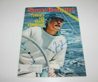 TED TURNER SIGNED SPORTS ILLUSTRATED MAGAZINE JULY 4TH 1977 SI COA BRAVES OWNER