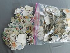 Used US Stamp Lot - On Paper Decoupage Craft Mosaic Collecting