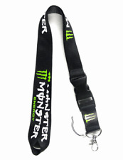 Monster Lanyard Detachable Keychain ID Badge Phone Camera Holder USA New