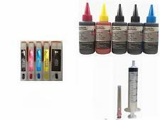 5 Empty Refillable Ink Cartridges Kit for Epson XP-610 XP-700 XP-810 273 273XL