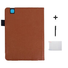 HOT Auto Sleep Leather Cover Case+HD Film+Touch Pen For KOBO Arua Edition 2