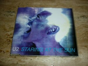 """U2, """"Staring at the Sun """"  4 track CD single 1997 Excellent Condition."""