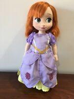 "Fits Disney Animators 16"" Doll Clothes Princess Sofia Inspired Dress Costume"