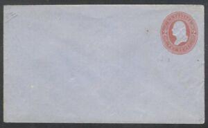 U.S. #U238 (713) Mint Entire - 2c Red on Blue ($40)