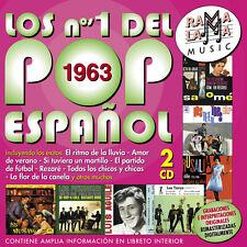 LOS Nº1 DEL POP ESPAÑOL 1963-2CD