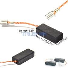 4 Carbon Brushes fr Bosch 019 Angle Die Grinder Laminate Trimmer Sander Polisher