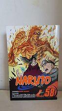 NARUTO VOL 58 MASASHI KISHIMOTO SHONEN JUMP MANGA COMIC BOOK GRAPHIC NOVEL 2012