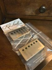 (2) Rewind Electric Vintage pulls series 1959 PAF humbucker covers aged / relic