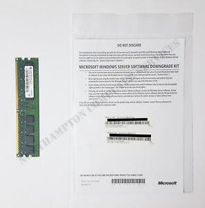 Windows Server 2008 R2 Standard & Enterprise DELL Downgrade Kit  01YJPX - VAT