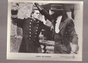 "Original 1962 Frank Latimore ""Zorro The Avenger"" photo"