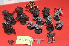 Games Workshop Warhammer 40k Chaos Cultists Space Marines Army Figures WH40K