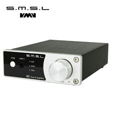 SMSL A2 Audio Digital Home Theater Amplifier Class-D with Subwoofer 40Wx2 Silver