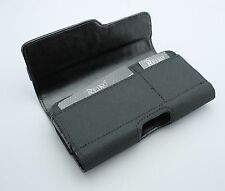 REIKO Heavy Duty Carrying Case Pouch Clip Belt Loops Holster w/ Two Card Pockets