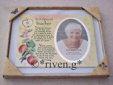 A SPECIAL TEACHER GIFT@Teacher Gift Present Thank You Teaching Assistant Plaque