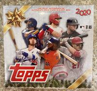 🔥🔥🔥2020 Topps Holiday MLB Baseball Mega Box Walmart. Factory Sealed !!🔥🔥🔥