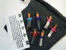 Traditional Fair Trade Guatemalan Worry Dolls in Pouch Gift