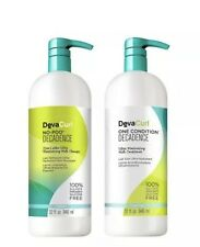 DevaCurl One Condition No-Poo Decadence 32 Oz DUO, Brand New, Sealed, Authentic