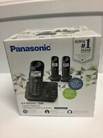Panasonic KX-TG3683 Cordless Telephone with 3 Handsets and Answering Machine