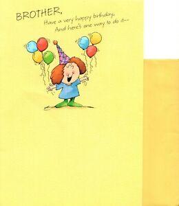 Happy Birthday Brother - Who's Buying? Next Round - Hallmark Greeting Card