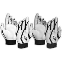 Easton Black Stealth Home and Road Batting Gloves Adult