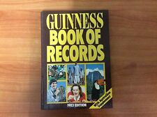 THE GUINNESS BOOK OF RECORDS - 1983 Edition with Australian Supplement