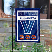 Villanova Wildcats 3 Time Basketball National Champions Garden Flag