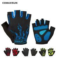 Cycling Gel Pad Half Finger Short Finger Gloves Breathable ShockproofMTB Gloves