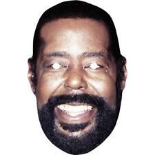 Barry White cantante Retro década de 1980 Celebridad Tarjeta Mascarilla-todas las máscaras precortadas