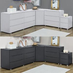 Schubladenschrank Sideboard Konsole Kommode Wandschrank Eckschrank Wohnzimmer