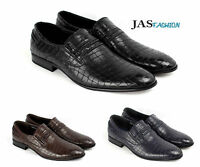 Mens Slip On JAS Fashion Smart Shoes Casual Office Designer Wedding Formal Style