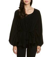 HOSS INTROPIA bat-sleeves cardigan sweater jumper pull maglia ampia donna S BNWT