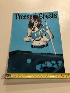 Vintage 1971 Treasure Chests Calendar Unusual