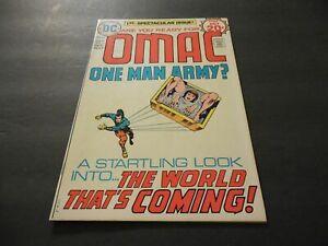 Omac #1 Oct 1974 Bronze Age DC Comics Jack Kirby Art & Story             ID:6753