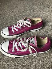 Converse Chuck Taylor All Star Low Top Pink Size UK 4 / EU 36.5