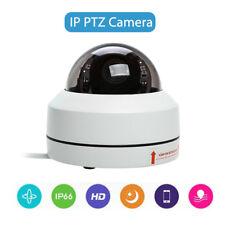 IP PTZ Camera 1080P 2MP Mini Speed Dome H.264 Infrared Camera Waterproof White