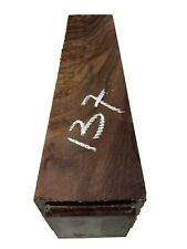 """Indian Rosewood Turning Wood Blank/ Pepper Mill Blank/Lathe 3""""x3""""x12"""", #137"""