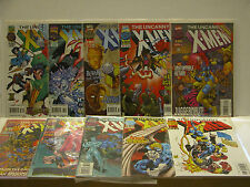 UNCANNY X-MEN #330 - #339  -  10 BOOKS IN ALL! - FREE SHIPPING