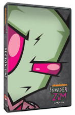 Invader Zim : Season 1 (DVD, 2011, 4-Disc Set) ALL REGIONS , Kids Comedy Cartoon