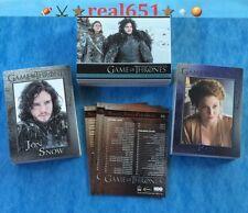 2014 Rittenhouse Game of Thrones Complete Set 1-98   Season 3   9-Pocket Sleeves
