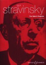 STRAVINSKY RAKE'S PROGRESS VOCAL SCORE