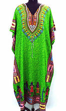 Hippy-African-Green-Kaftan-Dress-Casual-Wear-Beach-Cover-up-Evening-Wear Caftan