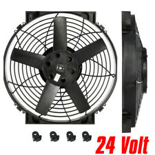 "14"" Slimline Electric / Thermatic Fan (24 Volt) (Part #0165) (Davies Craig)"
