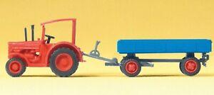 Preiser 79502 Hanomag-Schlepper mit Anhänger Spur N Fertigmodelle, Neu