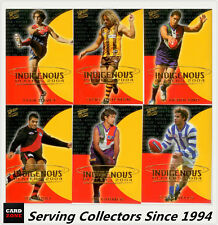 2004 Select AFL Ovation Trading Cards Indigenous Players Full Set (44) - Rare